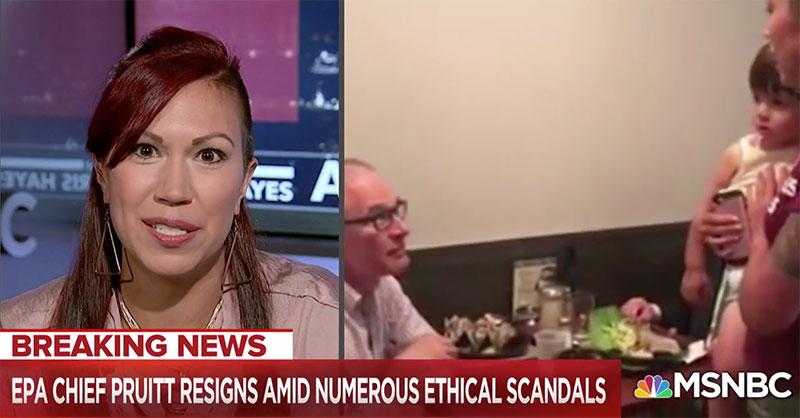 Kristin Mink on MSNBC
