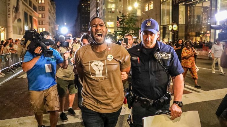 Jumaane Williams arrested Monday night in NYC   Photo by: Kyle O'Leary