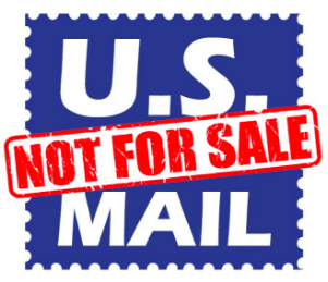 The U.S. Mail is Not For Sale!