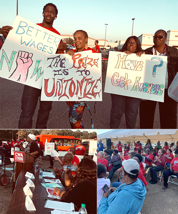 Hundreds of Hattiesburg Call Center Workers Rally for Fair