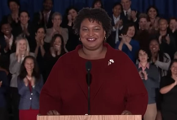 Stacey Abrams delivers democratic response