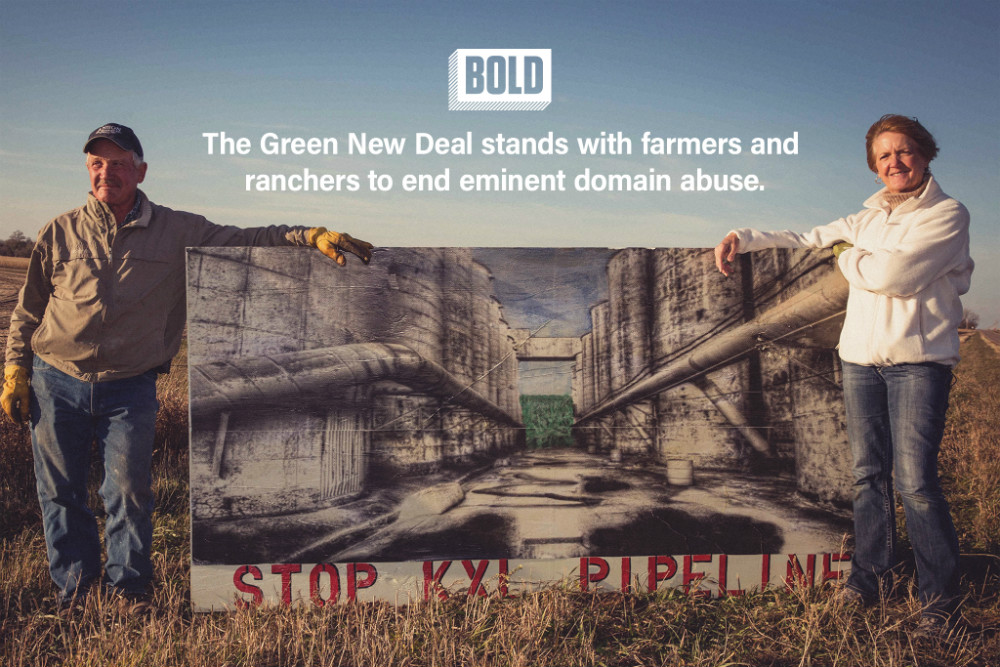 Sign on! Support the Green New Deal