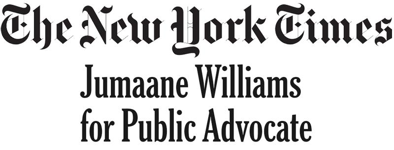 Jumaane Williams for Public Advocate