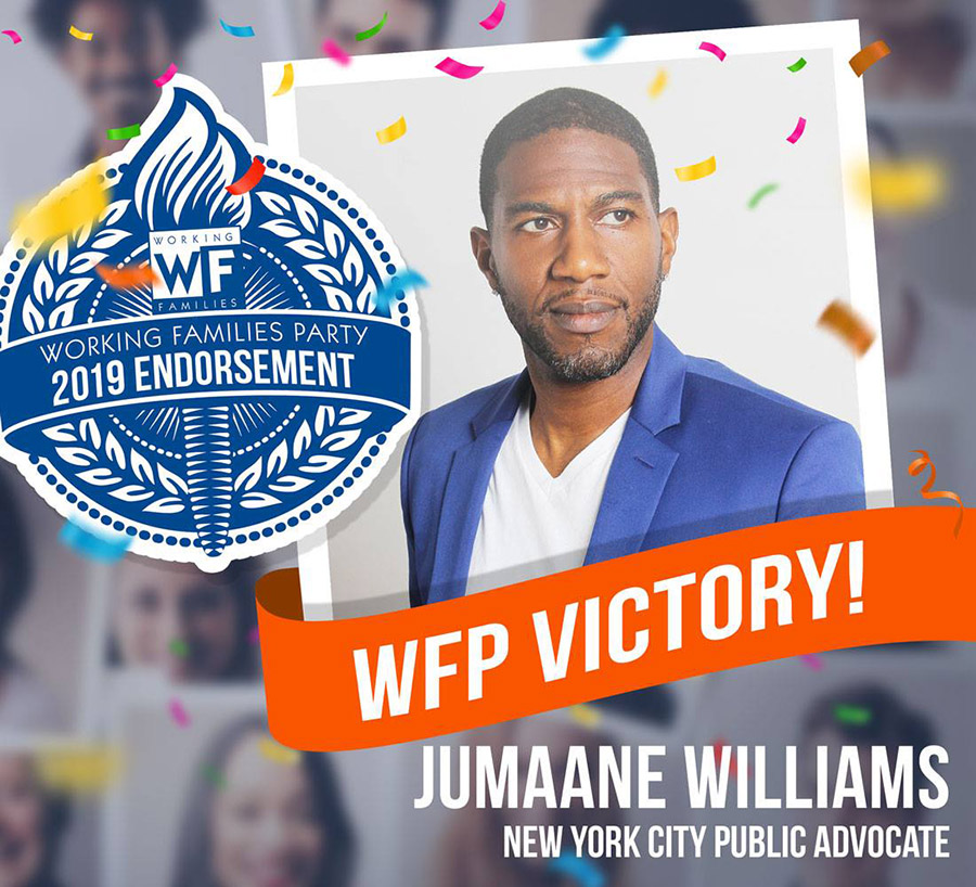 Jumaane Williams wins!