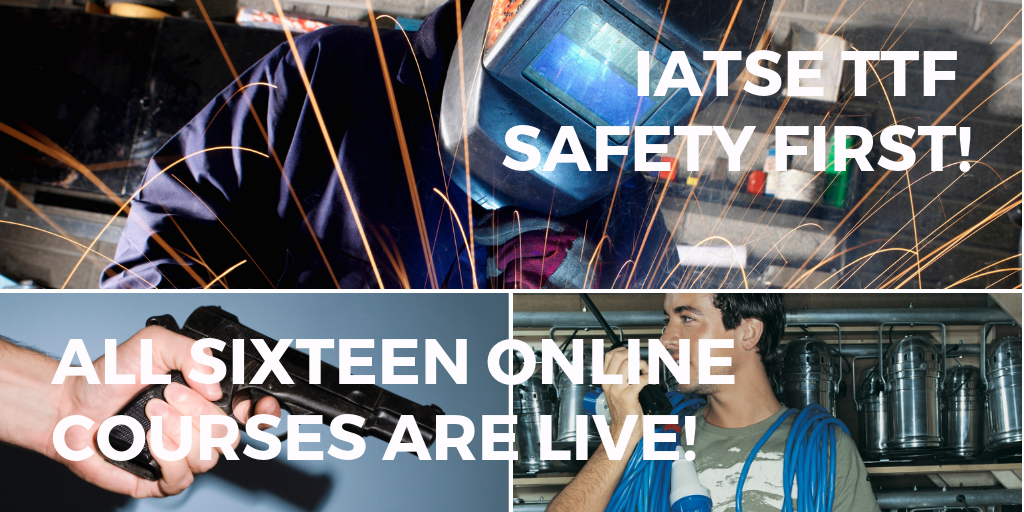 IATSE TTF Safety First! Online Courses Are Live