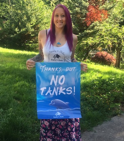Rachel Carbary, Founder of Empty the Tanks Worldwide
