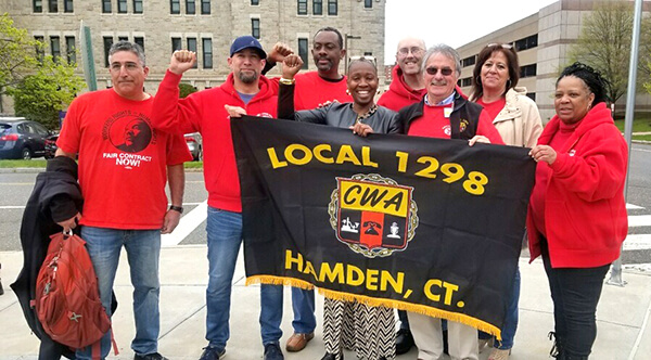 CWA Local 1298 Helps Win Minimum Wage Increase for