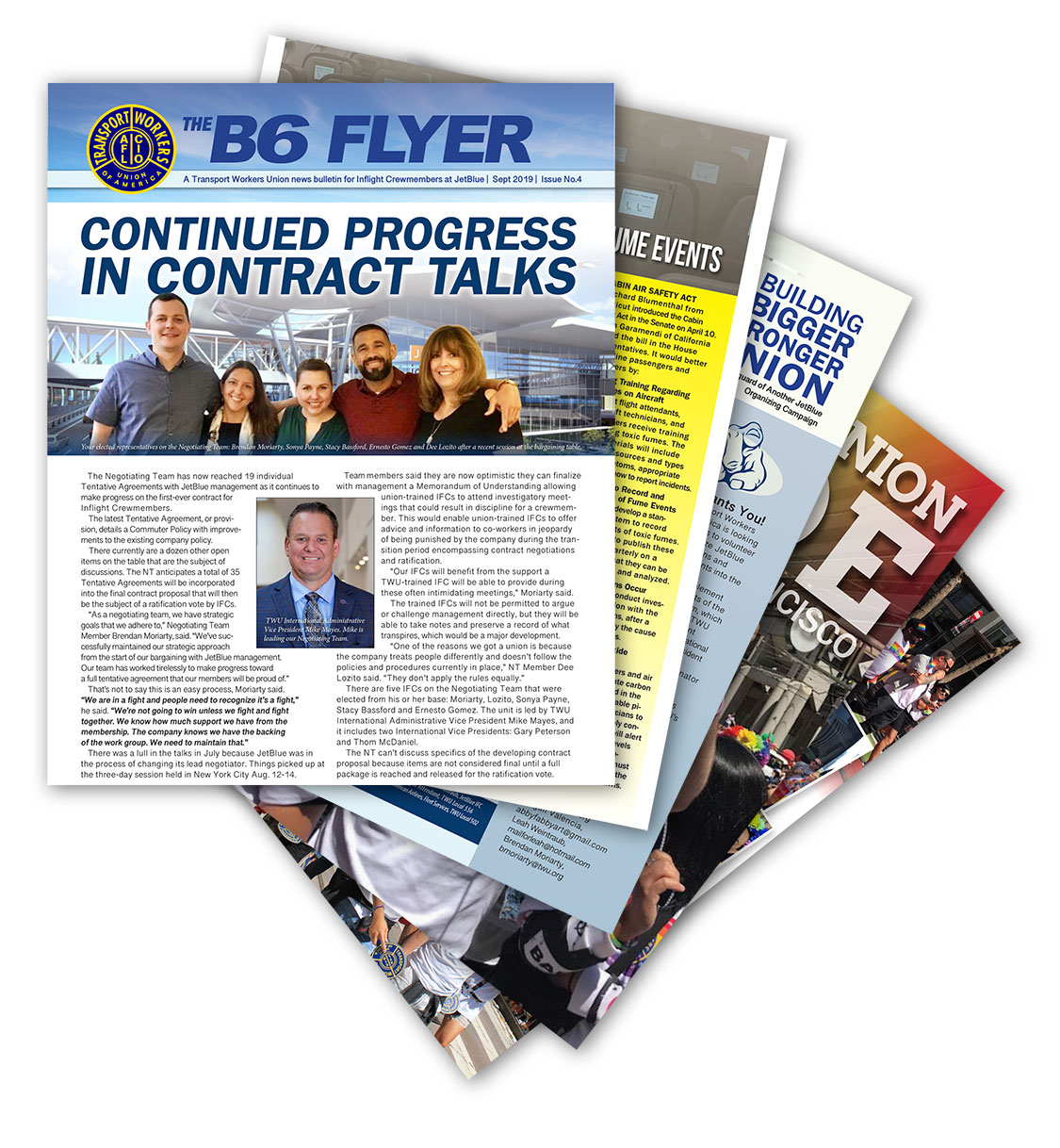The B6 Flyer — Issue 4