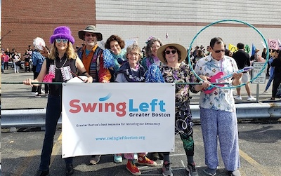 Swing Left at Honk