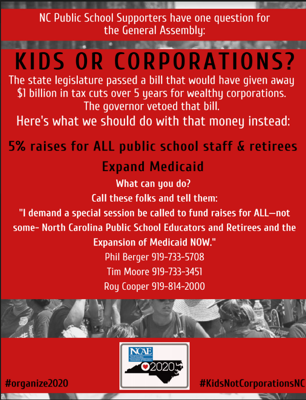 NCGA: Kids or Corporations?