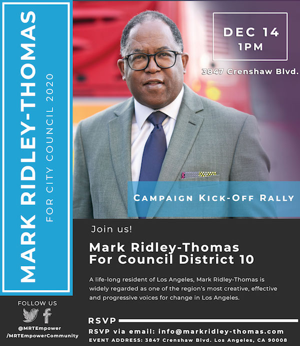 You're invited to our campaign kick off rally December 14th