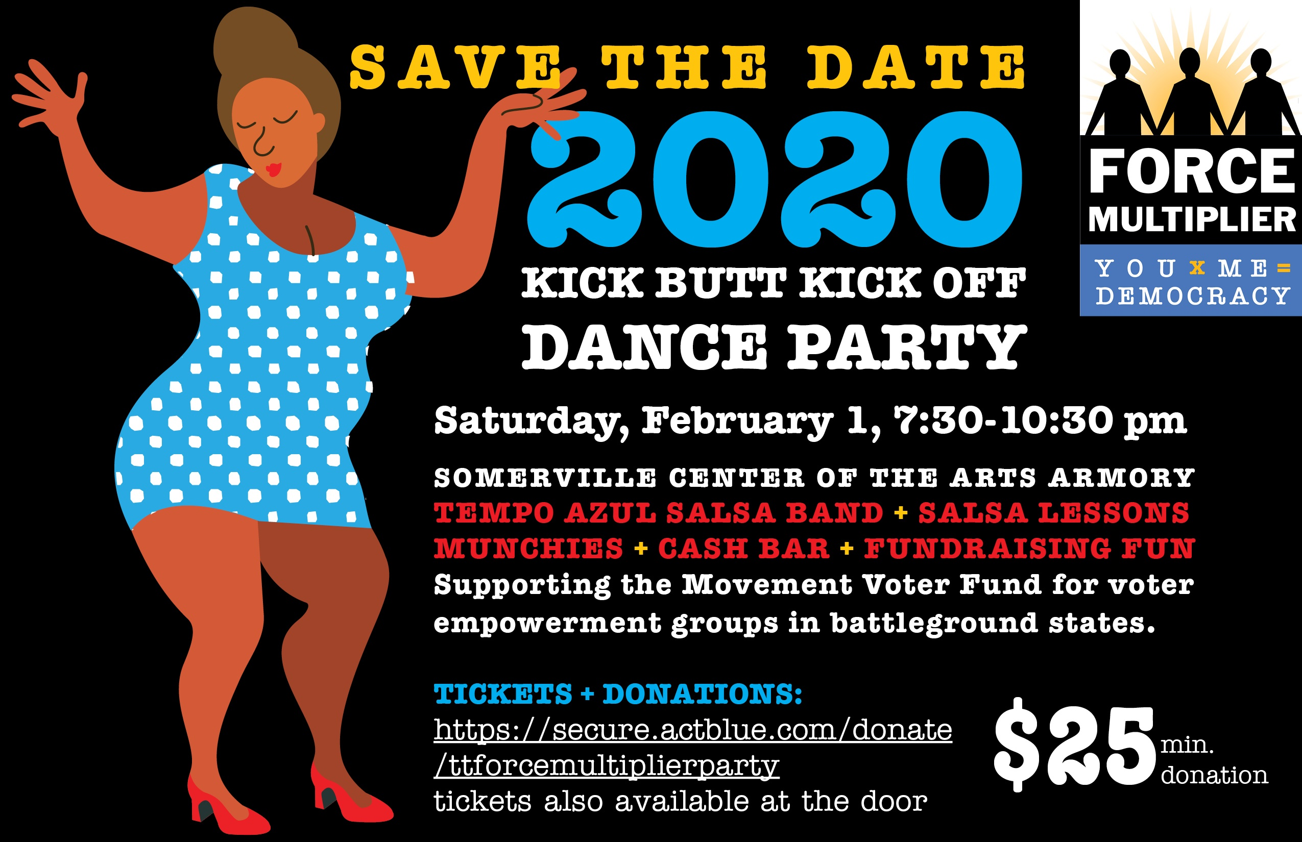 2020 kick butt kick off dance party