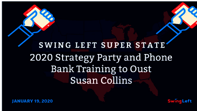 Swing Left Strategy and Maine Phone Bank Training