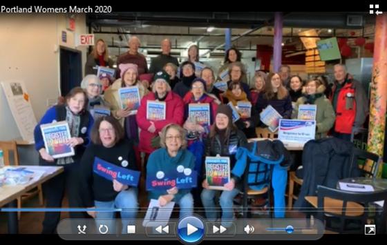 Swing Left at Portland Women's March