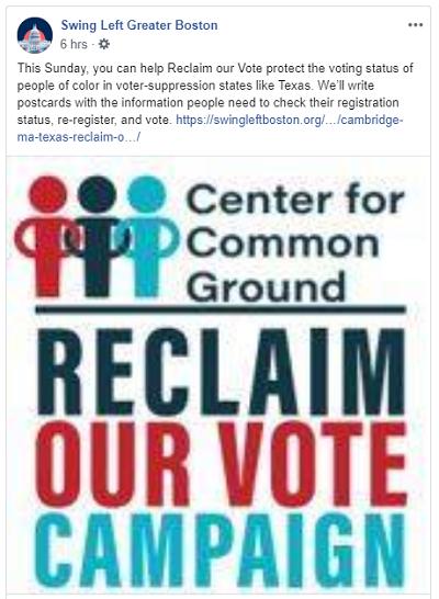 reclaim our vote