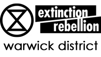 Extinction Rebellion Warwick District logo