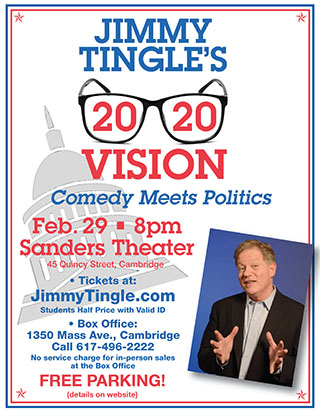 Jimmy Tingle at Sanders Theater