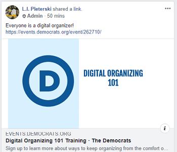 Swing Left Greater Boston Facebook Group