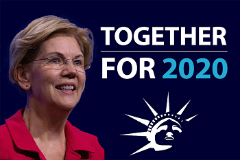 Senator Elizabeth Warren announces launch of Together for 2020