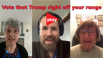 Wash that Trump video - scroll down and sing along