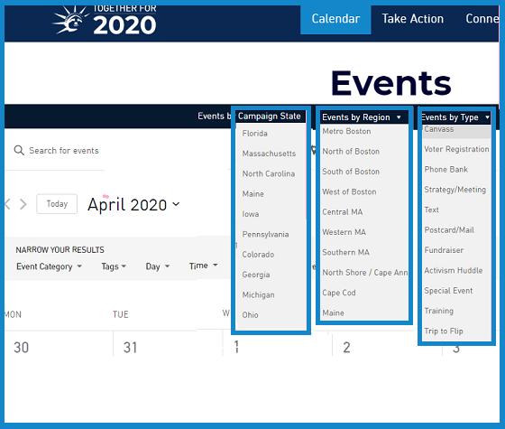 Together for 2020 calendar