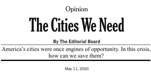 Screenshot of article headline