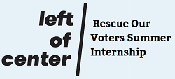 Rescue Our Voters Internship