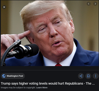 Trump says Republicans can't win if...