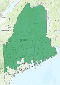 Maine's congressional districts