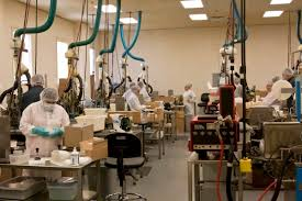 Trump visited swab manufacturer in Main