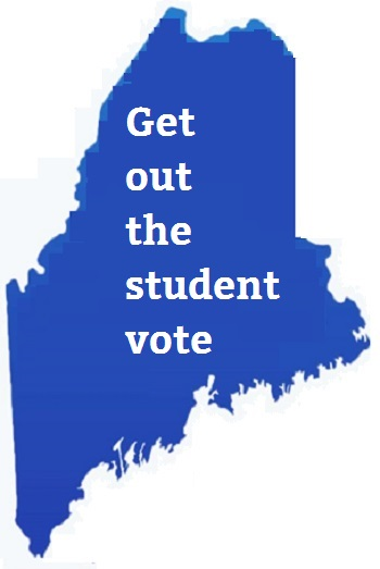 Getting out the student vote in Maine