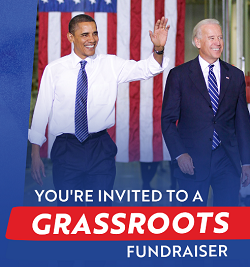 Obama leads grassroots fundraiser