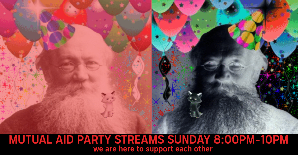 Mutual Aid Party Stream Banner