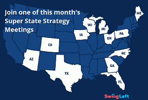 Join one of this month's Super State Strategy Meetings