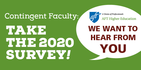 AFT Contingent Faculty Survey