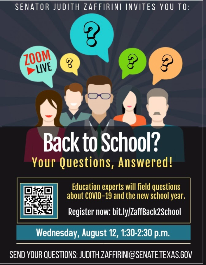 Back To School Webinar Poster