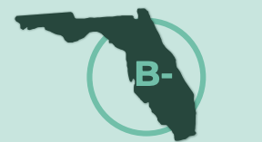 Florida has been rated a B-minus in VBM preparedness