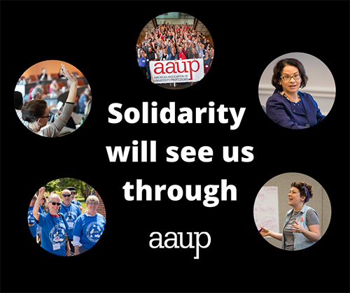 Solidarity will see us through graphic