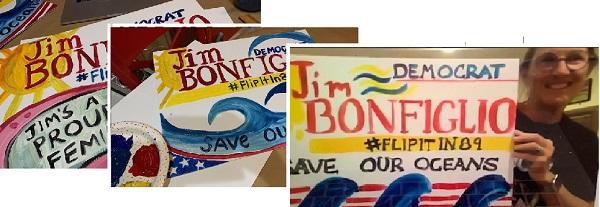 Y'ART Signs in Trump's District
