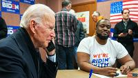 Biden makes calls