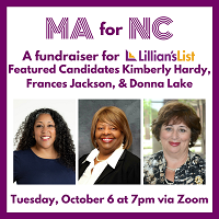 MA for NC Fundraiser