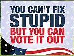 Can't fix stupid!