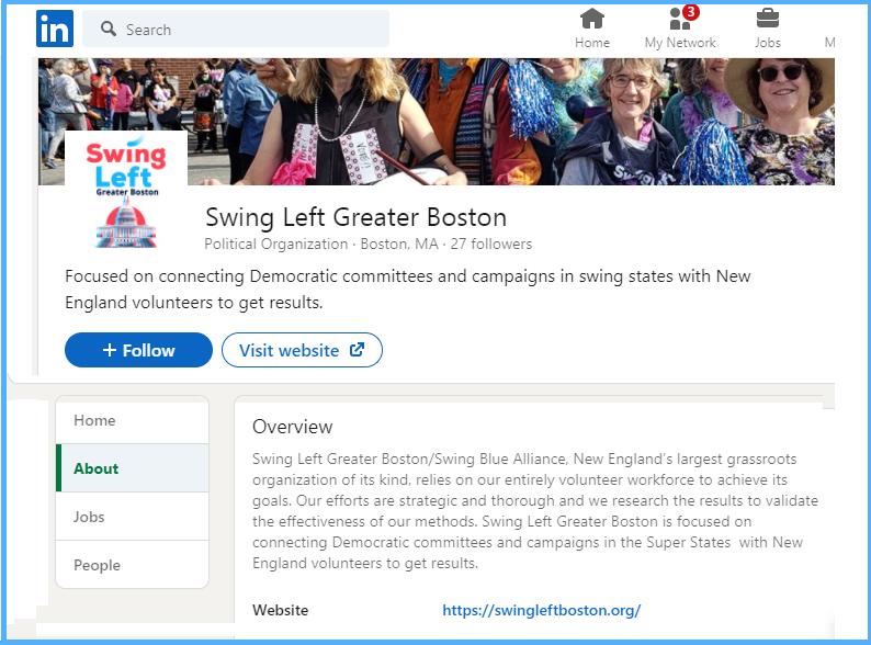 Swing Left Greater Boston on LinkedIn