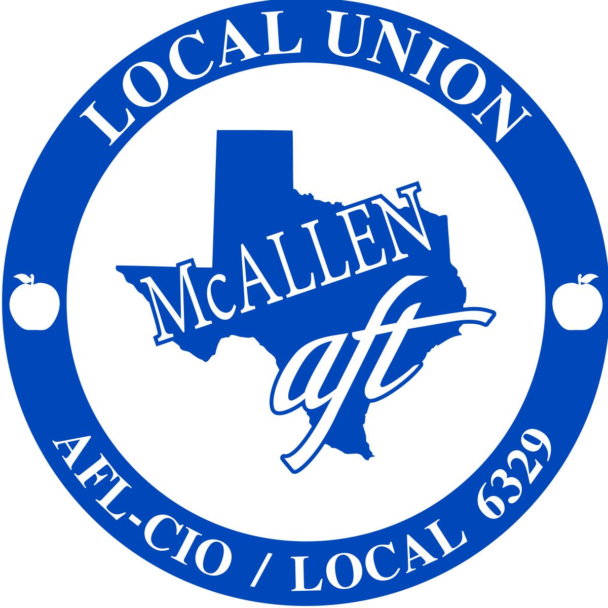 McAllen AFT, local 6329, logo