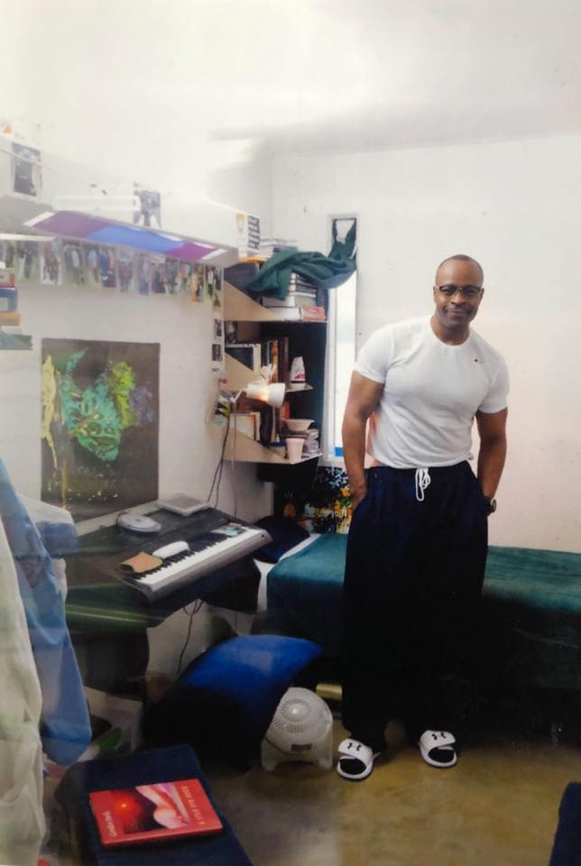 Keith LaMar in his cell