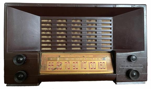 Photo of old radio