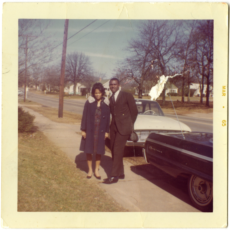 Harvey and Lucinda Gantt in 1965