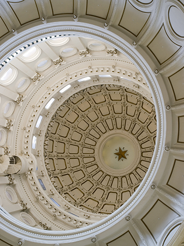 Capitol dome looking up