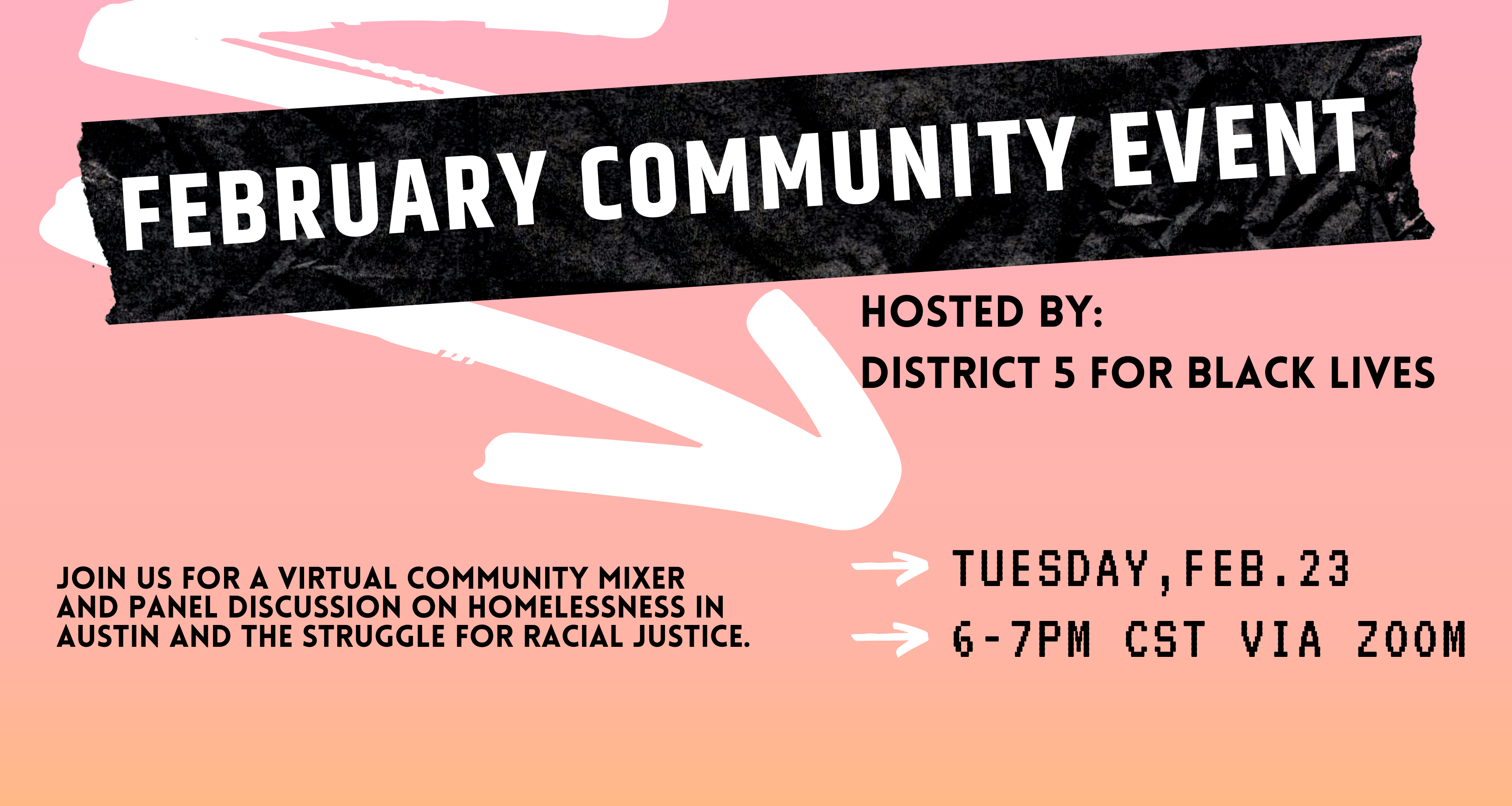February Community Event Details