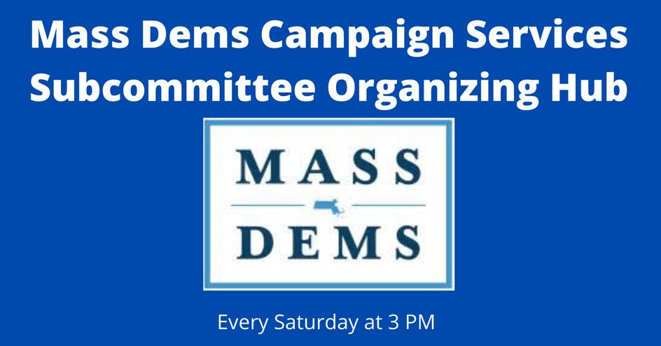 Mass Dems Organizing Hub